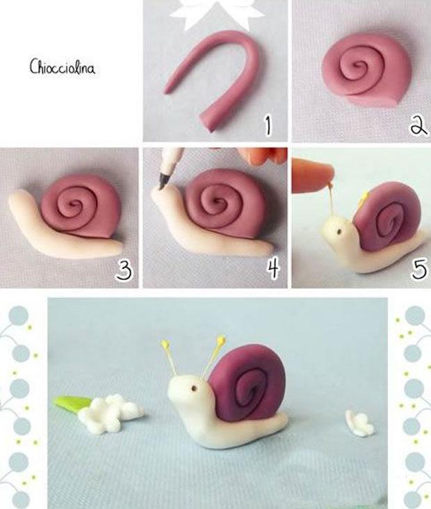 软陶diy可爱小动物系列粘土手工制作
