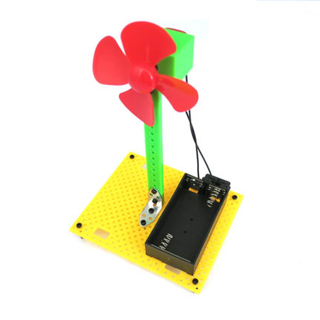 diy风扇 手工科技小制作 电动模型拼装玩具 科学实验小发明材料包