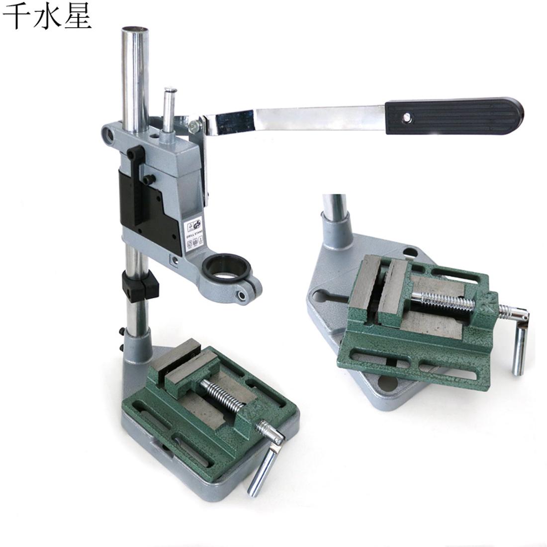 台钻工作台 diy模型台钻夹 铁制手工制作工具手电钻支架 多功能