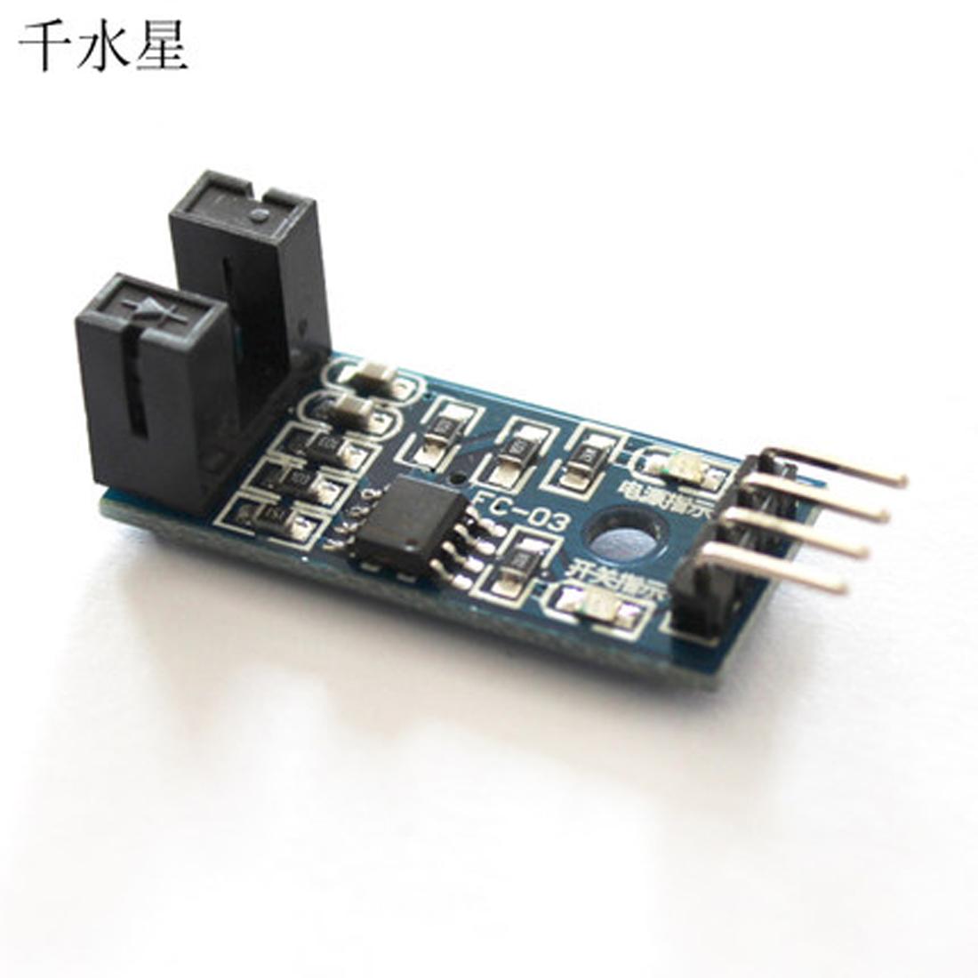 测速传感器模块 脉冲 计数器模块 电机马达测试模块 槽型光耦模块
