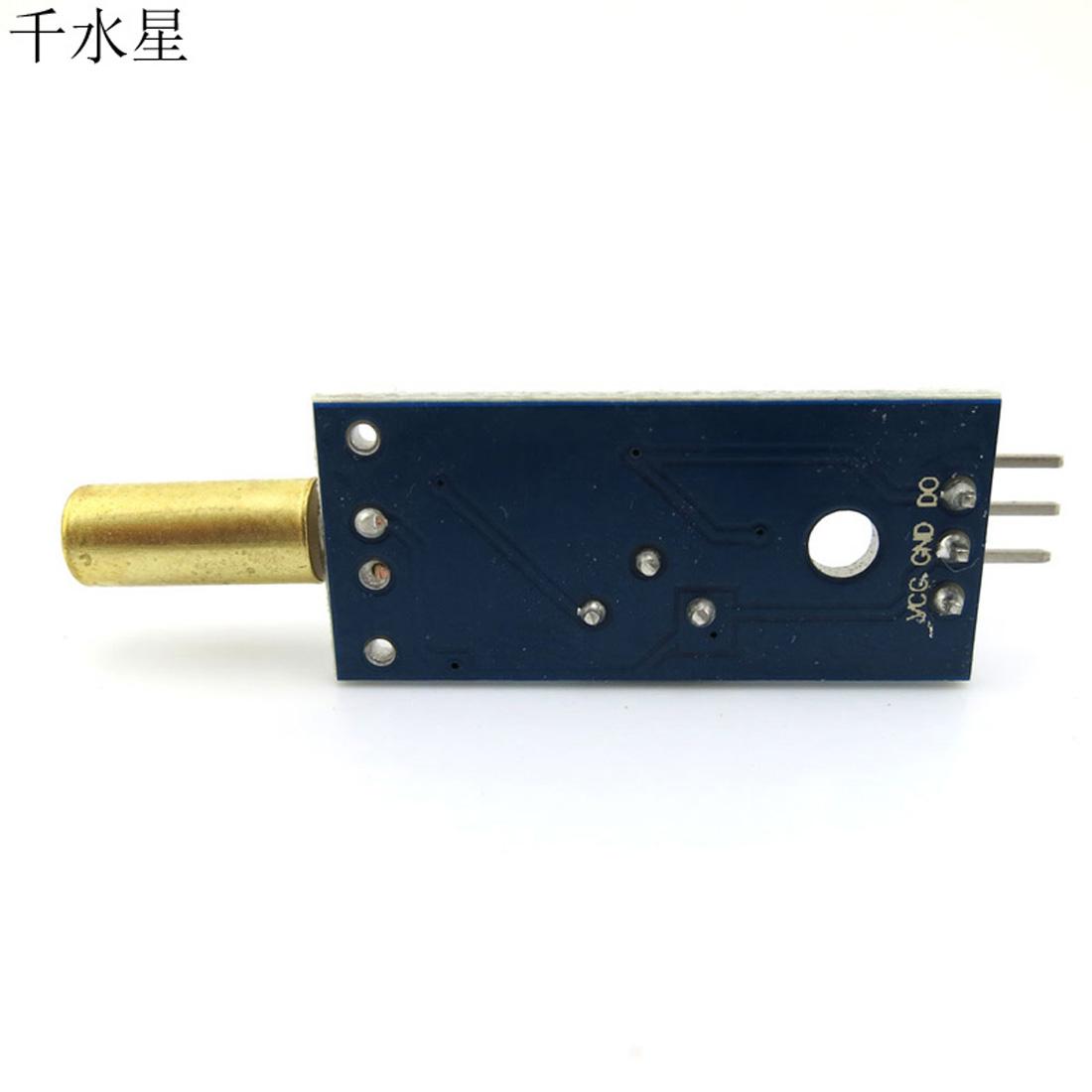 (金色圆头)角度传感器模块 diy机器人单片机 电子滚珠开关感应器