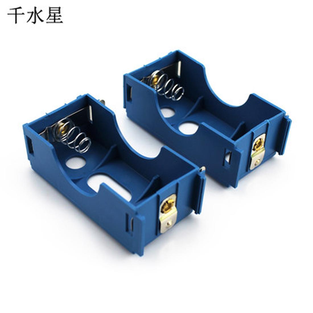 实验用1号电池盒(蓝色)物理电路串联并联教学电学 塑料电池盒