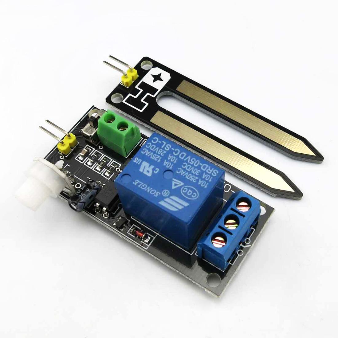 首页 电路配件 传感器模块 继电器土壤湿度传感器 自动浇花传感器 pcb
